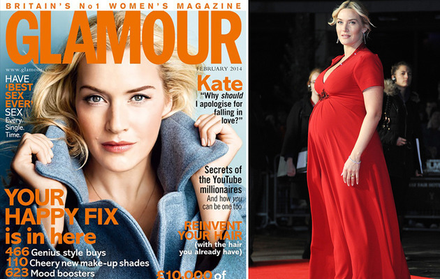 Kate Winslet on Baby Weight: I'm Not Thinking About My Arse!