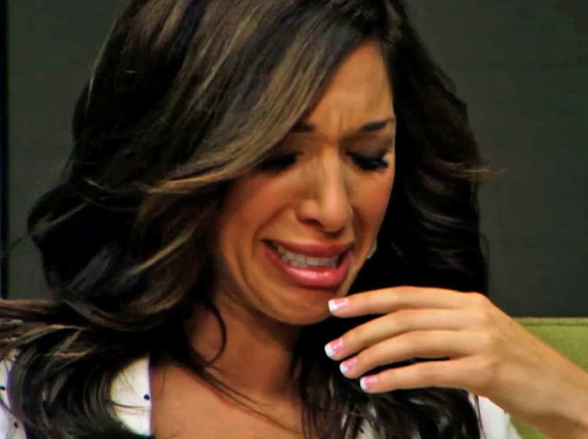 Farrah Abraham Crying Gif Fan base: farrah abraham