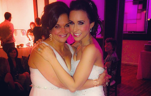 Lacey Chabert is Married -- See First Pic Of Her Wedding Dress!