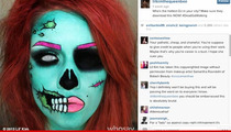 Lil' Kim Threatened With Lawsuit Over Zombie Face