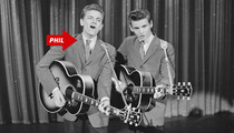 Phil Everly Dead -- 'Everly Brothers' Member Dies At 74
