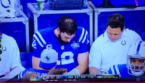 Andrew Luck -- Thin Margin of Victory ... On His Head