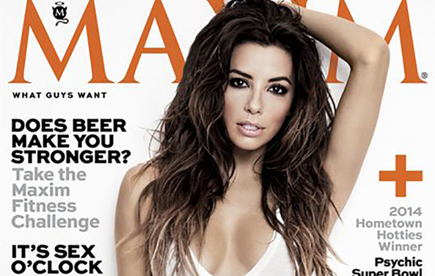 Eva Longoria Named Maxim's Woman of the Year!