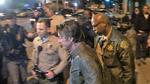 Sean Penn -- Armed Sheriff's Escort ... to Leave Dinner