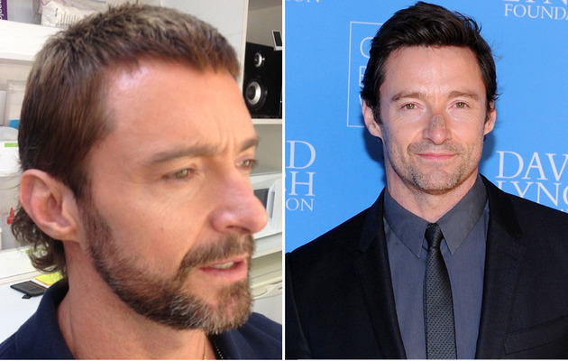 Hugh Jackman Has a Mullet -- See His New 'Do!