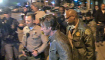 Sean Penn -- Armed Sheriff's Escort ... to Leave Dinner