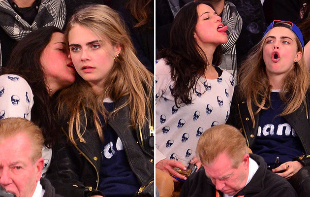 Photos: Michelle Rodriguez's Sloppy PDA with Cara Delevingne