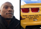 Tyrese Gibson -- Shaken to the Core Over Surprise Paul Walker Tribute in Dubai -- 'Dude I Almost Had You'