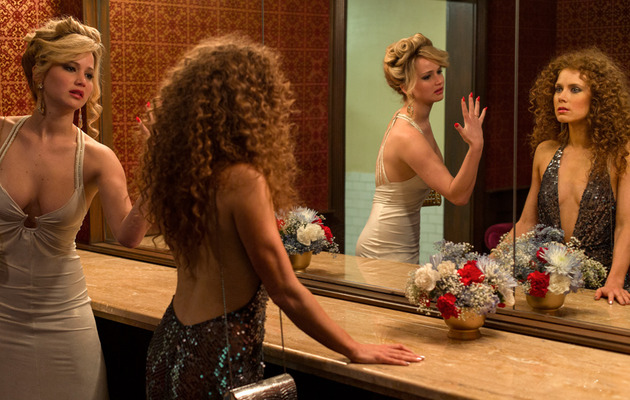 "Amy Adams Takes Credit For Jennifer Lawrence Kiss in ""American Hustle"""