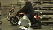 O.C. Choppers -- We're Making a Huge Bike ... FOR SHAQ!