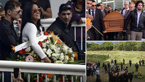 Slain Venezuelan Soap Star Monica Spear -- Crowds Flock to Emotional Funeral [PHOTOS]