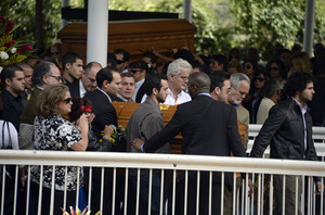 Monica Spear Funeral Photos