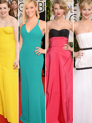 Golden Globe Awards: See All the A-List Red Carpet Fashion!