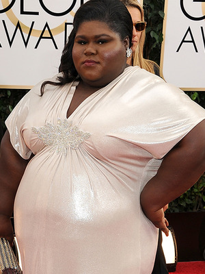 Gabourey Sidibe Slams Haters After Hitting Golden Globe Red Carpet