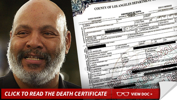 0113_james_avery_death_certificate_launch