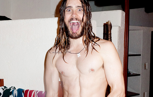 Jared Leto Goes Naked, Proves He's Hottest 42-Year-Old Ever