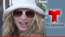 'X Factor' Judge Paulina Rubio Sues Telemundo -- Donde Esta My Money, Bitch?