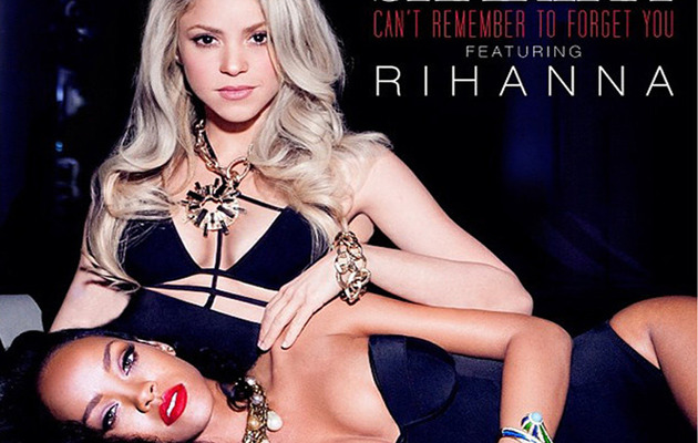 "Listen to Shakira's New Song ""Can't Remember To Forget You"" with Rihanna"