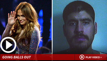 Jennifer Lopez -- Sued Over Wannabe Singer's Exposed Junk
