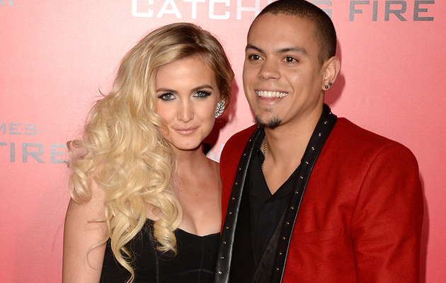 Ashlee Simpson & Evan Ross Engaged -- See the Ring!