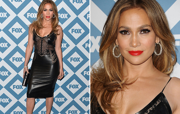 Jennifer Lopez Stuns in LBD at Fox TCA All-Star Party