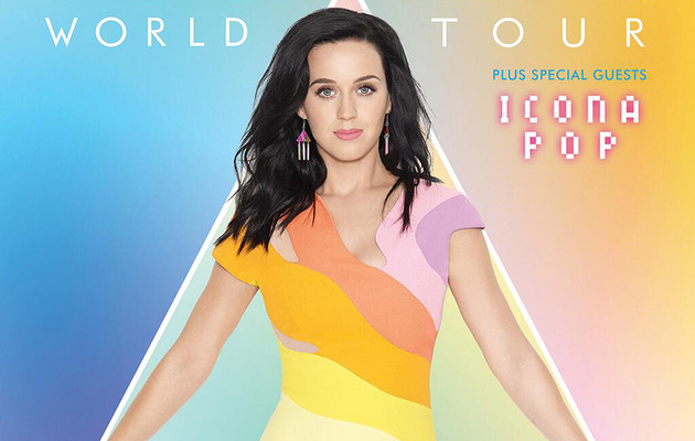 "Katy Perry Announces 2014 ""Prismatic"" World Tour Dates"