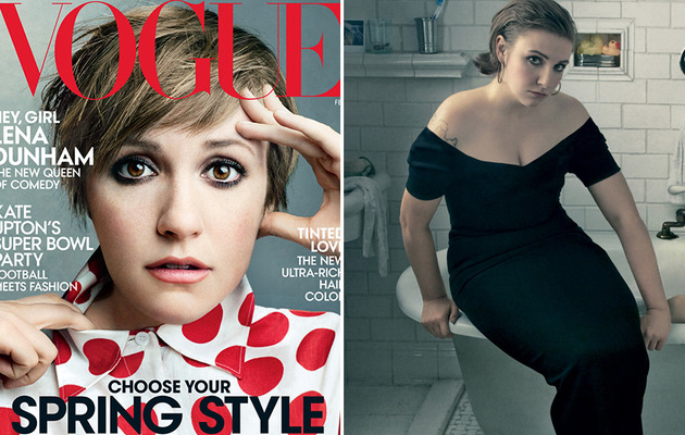 "Lena Dunham Covers Vogue, Talks ""Normalizing"" Sex!"