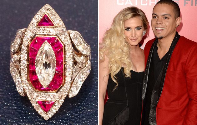 Ashlee Simpson's Engagement Ring -- See a Better Pic!