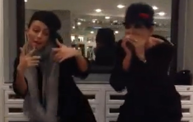 Video: Kris Jenner and Nicole Richie Show Off Their Rap Skills