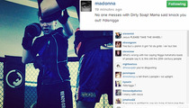 Madonna -- Drops N-Bomb on Her Own Son