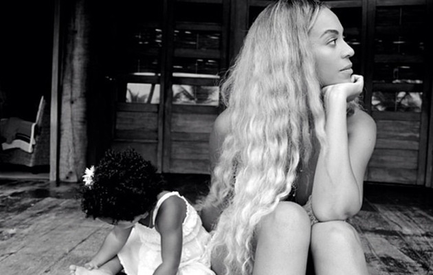Beyonce Shares Snapshot of Blue Ivy's Mini Ferrari & Cadillac!