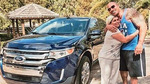 The Rock gave his housekeeper a new car!
