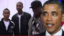 Cali Swag District to Obama -- Come to Our BBQ ... We'll Teach YOU to 'Dougie'