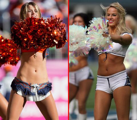 Congratulate, the Sexy bronco cheerleaders nude charming
