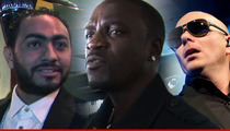 Egyptian Singer Sues Akon For Not Having Pitbull on a Leash
