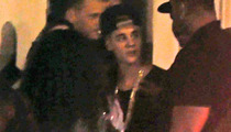 Justin Bieber -- Blows $75K in Miami Strip Joint