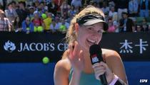 Tennis Star Eugenie Bouchard -- I Wanna Date Justin Bieber!!!