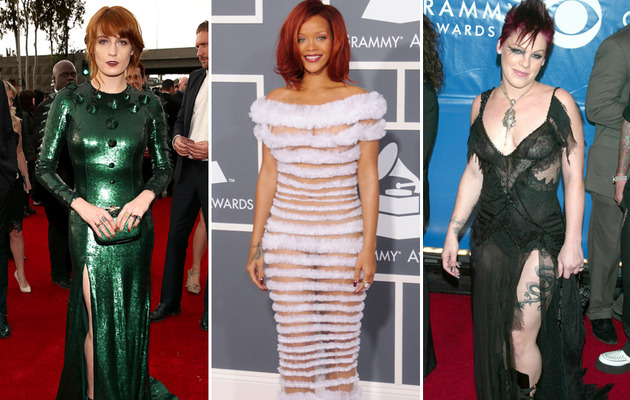 See The Worst Dressed Stars of the Grammy Awards' Past!