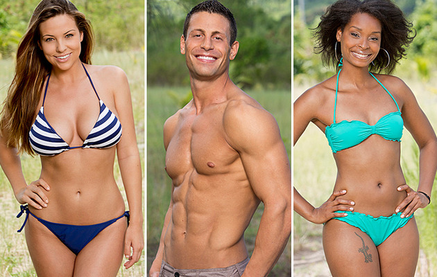 """New Photos: See the Hard-Bodied Cast of """"Survivor: Brains vs. Brawn vs. Beauty"""""""
