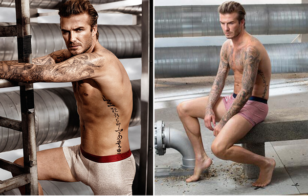 David Beckham Strips Down for Sexy Super Bowl Commercial!