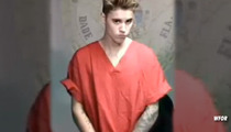 Justin  Bieber -- Too Cool for School During Court Appearance