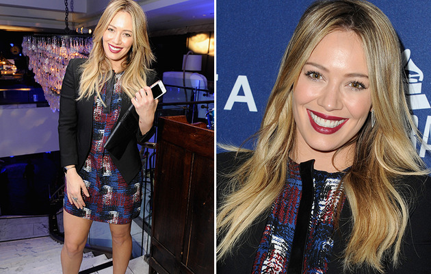 Hilary Duff Looks Great On First Red Carpet Since Split!