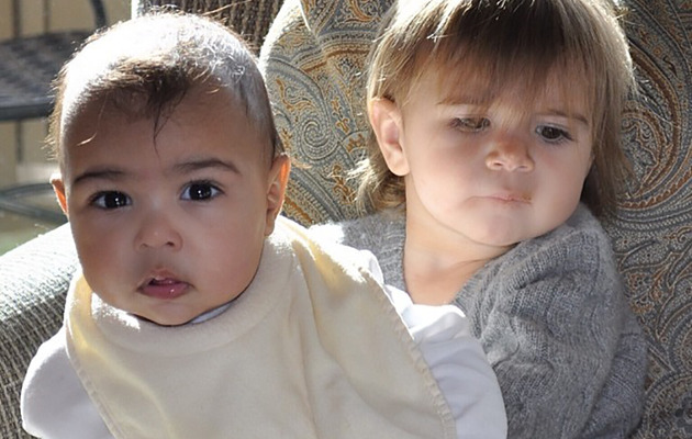 Kim Kardashian Shares New North West Photo With Cousin Penelope!