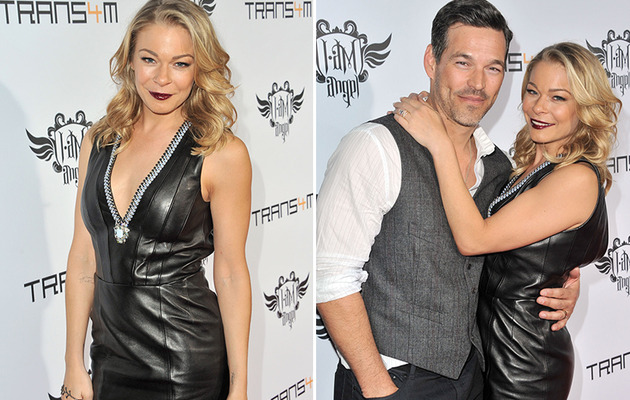 LeAnn Rimes Goes Goth at Billboard Event!