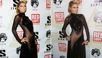 Paris Hilton Nearly Shows Off Her Lady Bits In Risque Dress