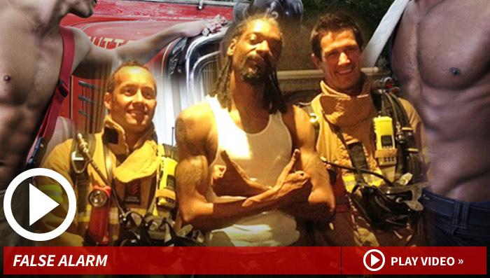 Snoop Dogg -- Where He Smokes, There's Firemen  in Australian
