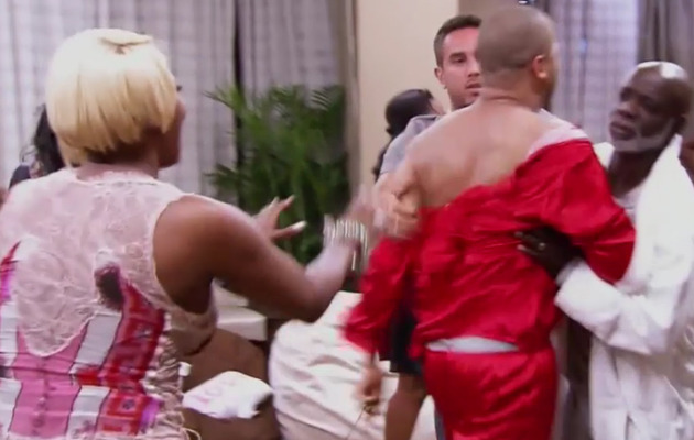 """""""Real Housewives of Atlanta"""" Recap: See The Pajama Party Brawl!"""