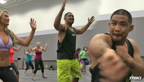UFC Badass Mark Munoz -- I Do Zumba ... And I LOOOVE It [Video]