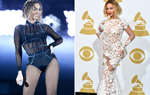 Beyonce's Designer Shares Details About Her Grammys Look!