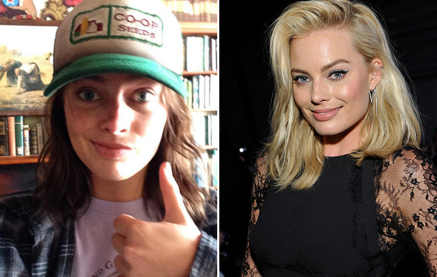 """The Wolf of Wall Street"" Star Margot Robbie Goes Brunette"